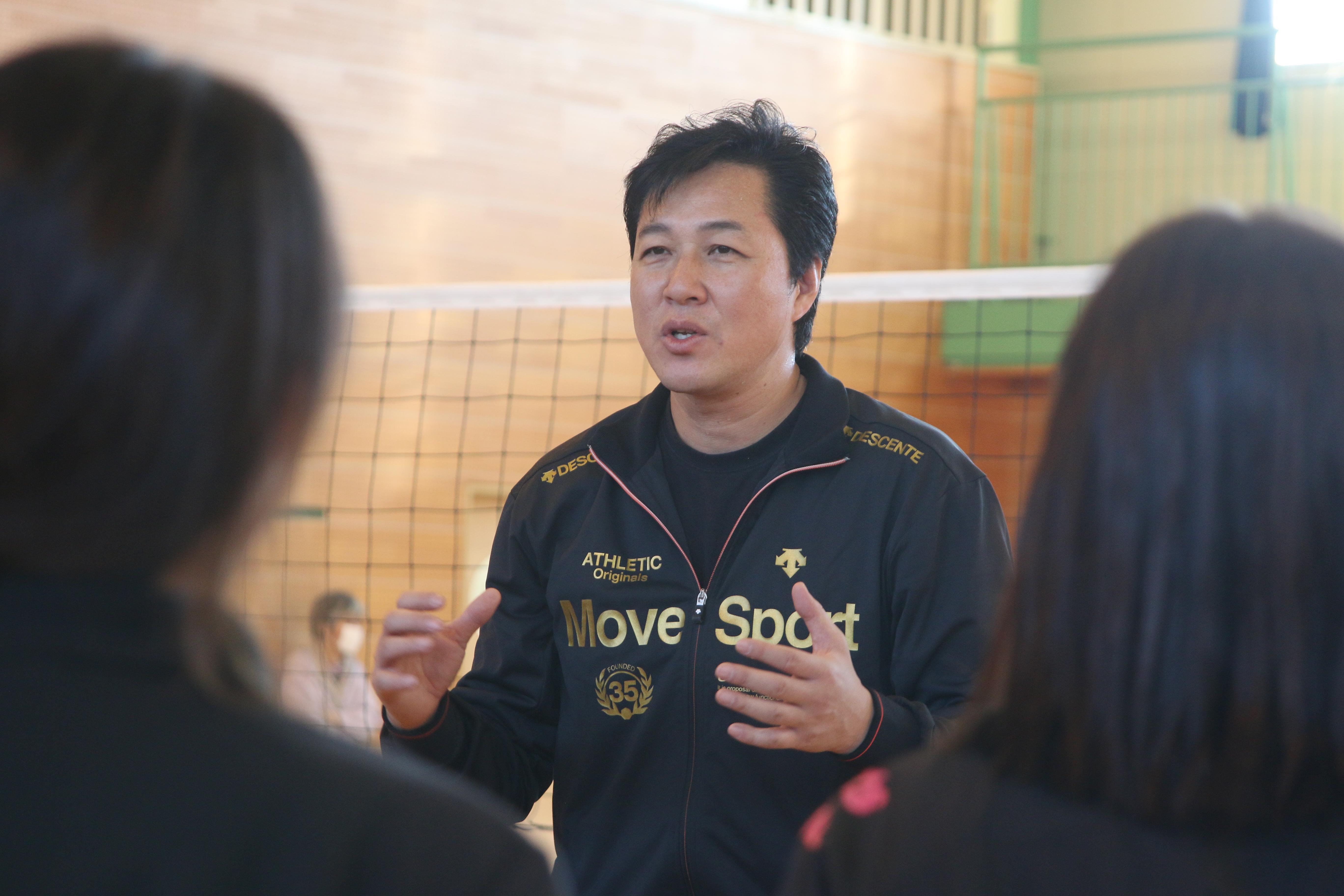 龍ヶ崎小学校バレーボール教室
